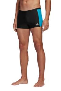 adidas Performance zwemboxer zwart/blauw, Zwart/blauw