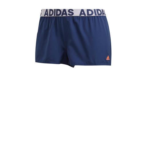 adidas Performance strandshort donkerblauw