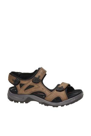 Offroad  leren outdoor sandalen bruin