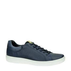 Soft 7  leren sneakers blauw