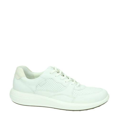 Ecco Soft 7 Runner leren sneakers wit