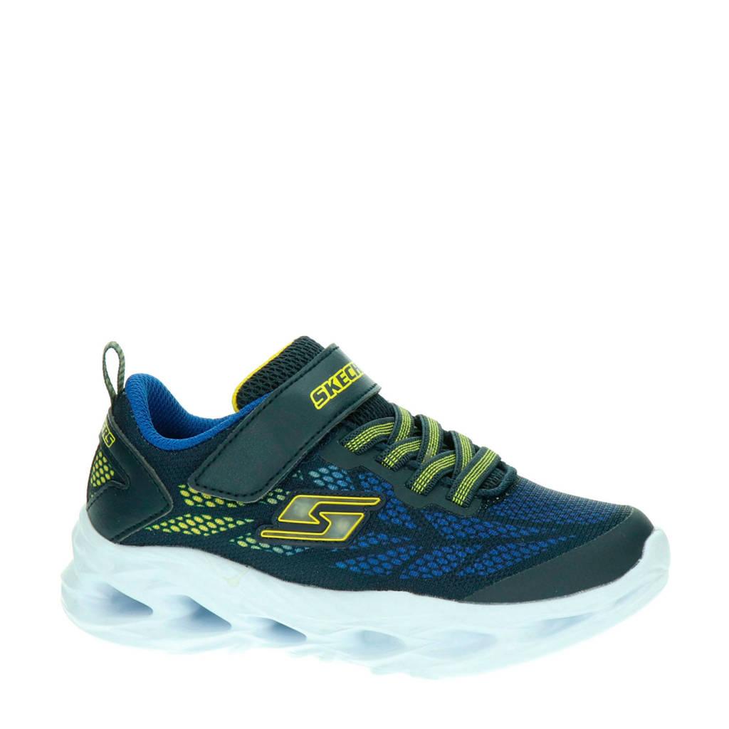Skechers S-Lights  sneakers blauw/geel, Blauw/geel