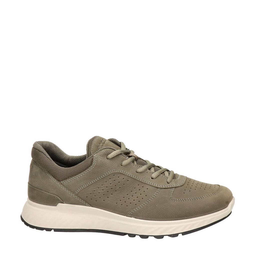 Ecco Exostride  nubuck sneakers groen, Groen
