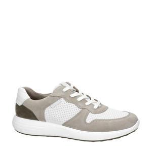 Soft 7 Runner  leren sneakers wit