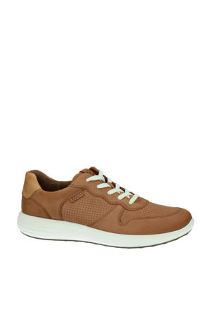 Soft 7 Runner  leren sneakers cognac