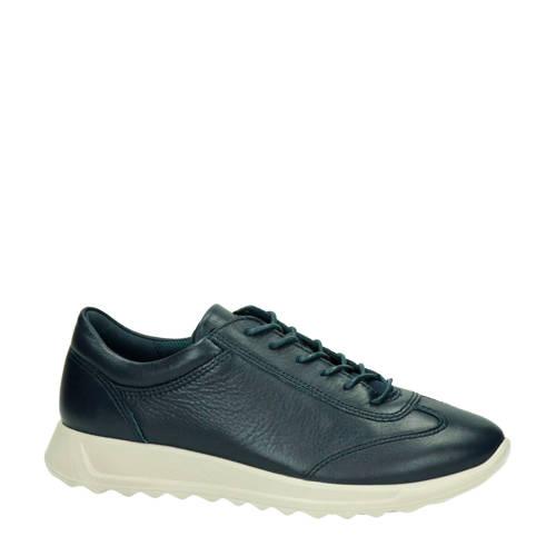 Ecco Flexure Runner comfort leren sneakers donkerb