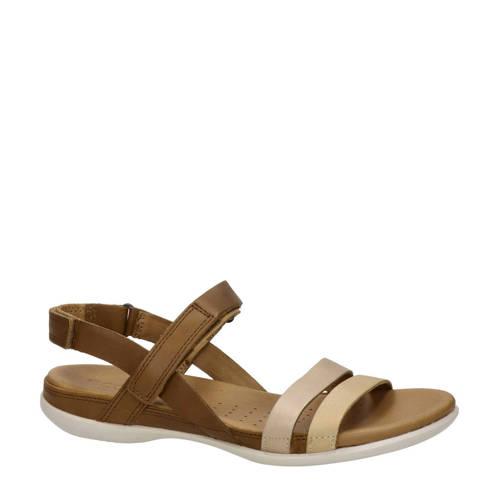 Ecco Flash leren sandalen bruin