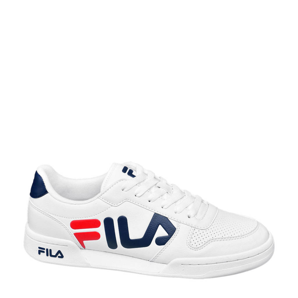Fila Center  sneakers wit, Wit/blauw/rood