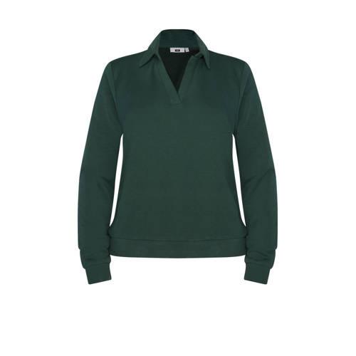 WE Fashion sweater groen