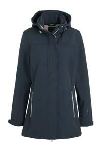 Cobolt softshell outdoor jas donkerblauw, Donkerblauw