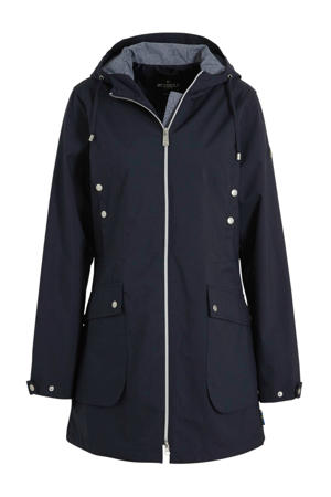outdoor parka donkerblauw