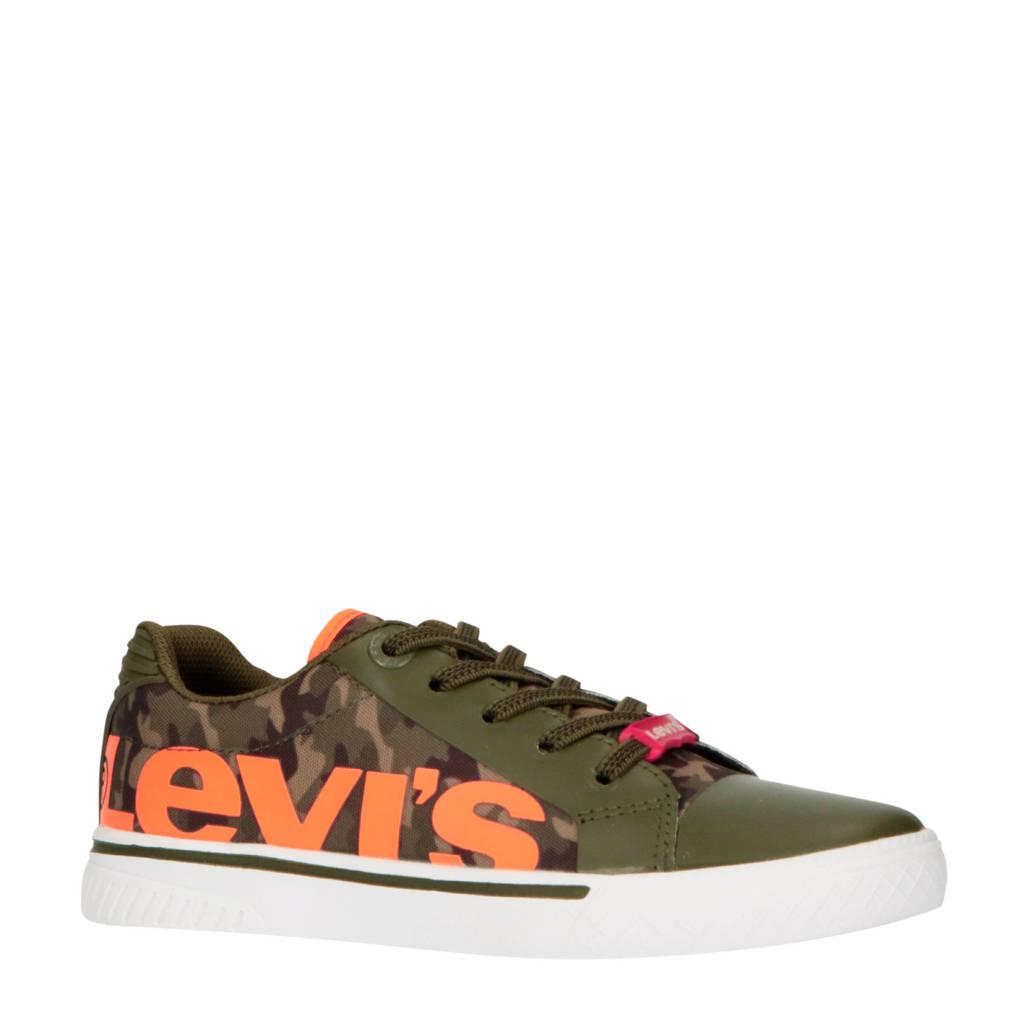 Levi's Kids Future Mega  sneakers groen, Legergroen/oranje
