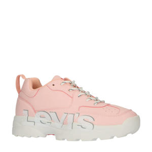 Levi's Kids Tribeca T  chunky sneakers lichtroze