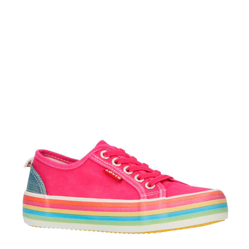 Levi's Kids Pearl  sneakers roze, Roze/multi