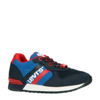 Levi's Kids Springfield K  sneakers blauw, Blauw/rood