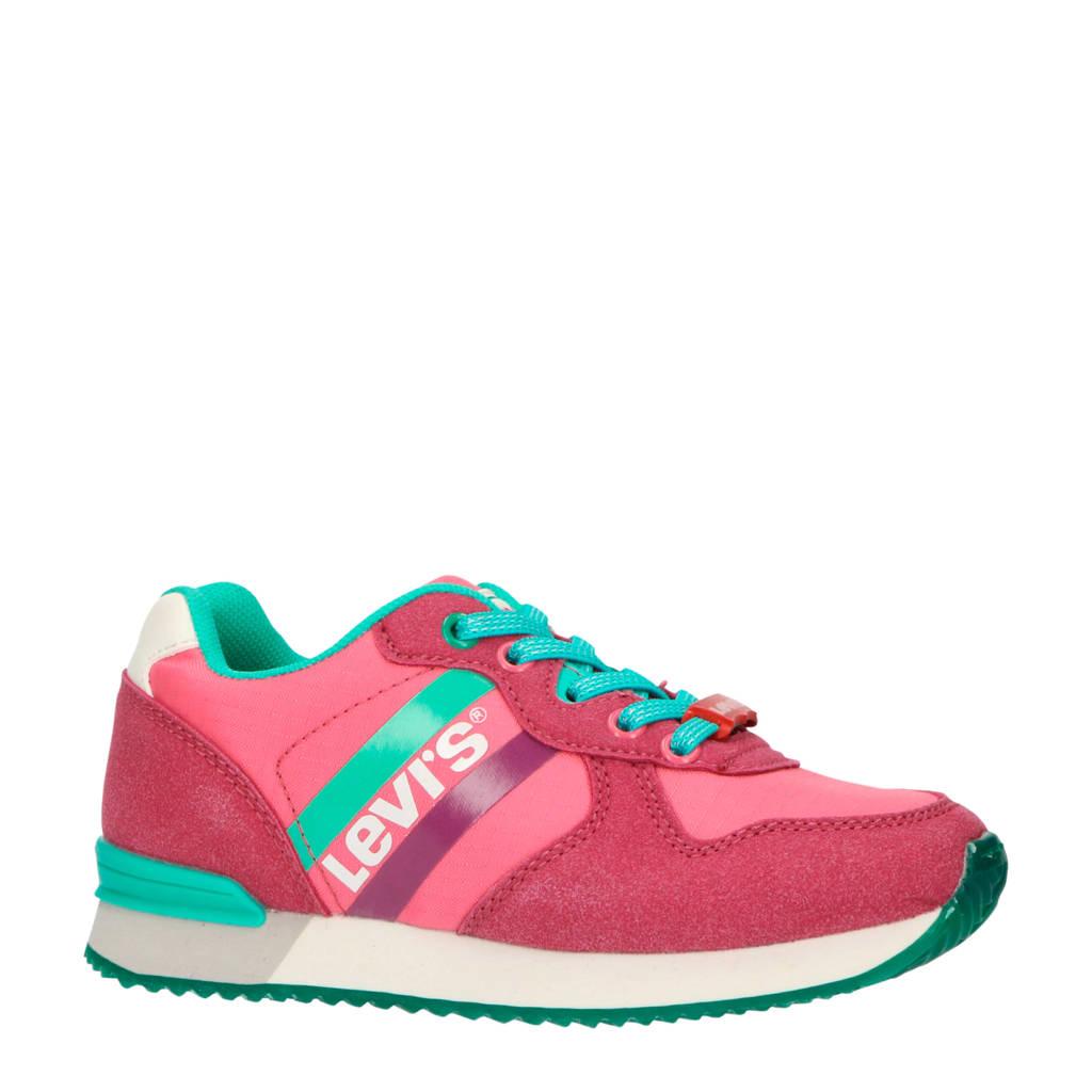 Levi's Kids Springfield K  sneakers fuchsia, Fuchsia/groen