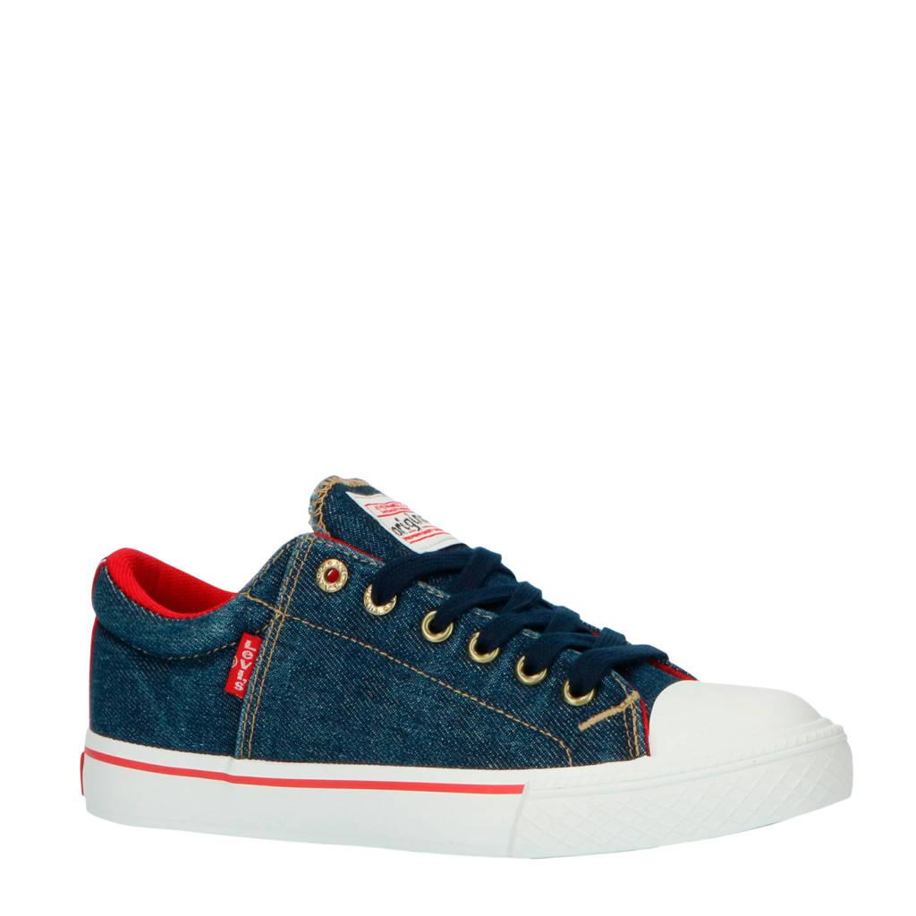 Levi's Kids New Original Low  sneakers denim/blauw, Blauw/denim
