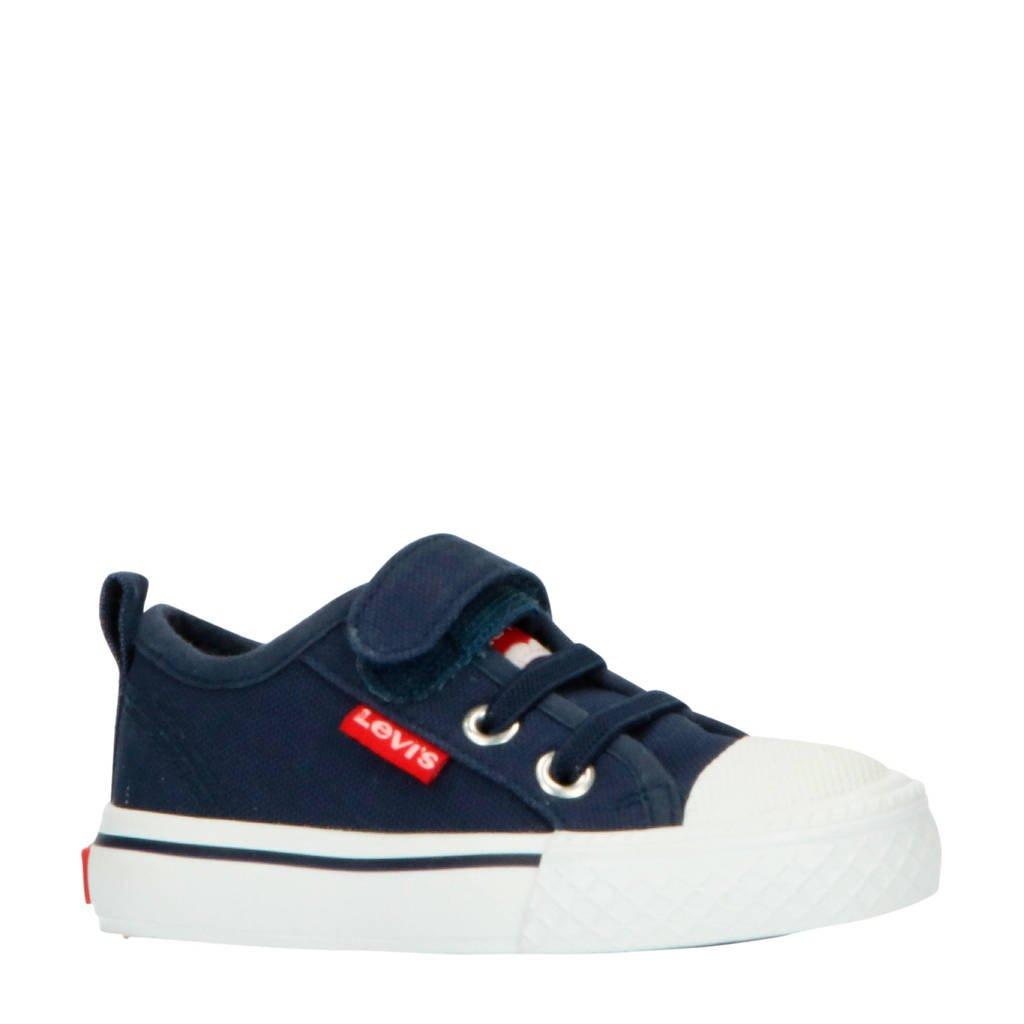 Levi's Kids Maui CVS VEL TD sneakers blauw, Blauw