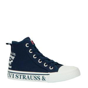 Levi's Kids Maui 2H Hi  hoge sneakers donkerblauw