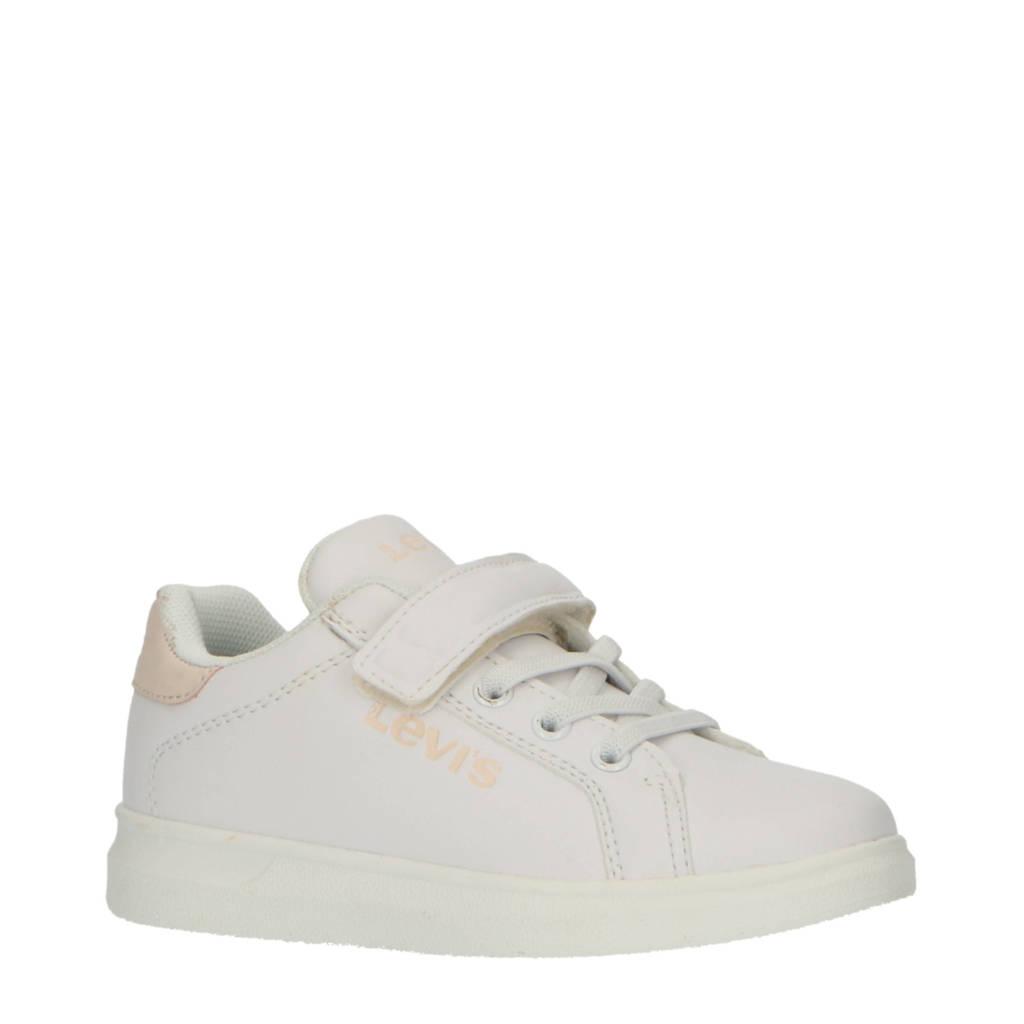 Levi's Kids Ellis Mini  sneakers wit/roze, Wit/roze