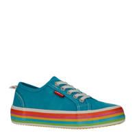 Levi's Kids Pearl  sneakers blauw, Blauw/multi