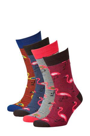 sokken set van 4 paar