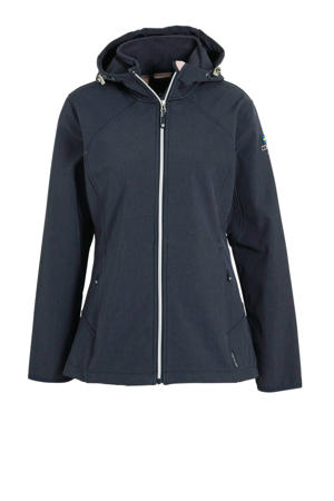 softshell outdoor jas grijs