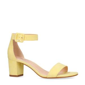 sandalettes pastelgeel