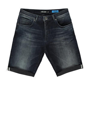regular fit jeans short zwart