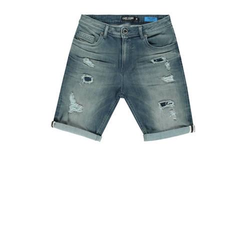 Cars regular fit jeans short grijsgroen