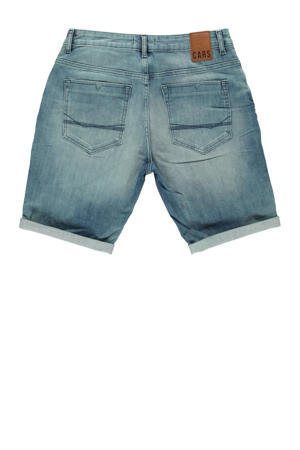 regular fit jeans short grijsgroen