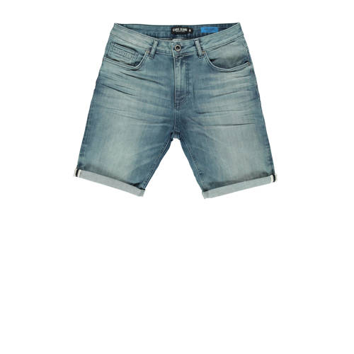 Cars regular fit jeans short grijsgroen