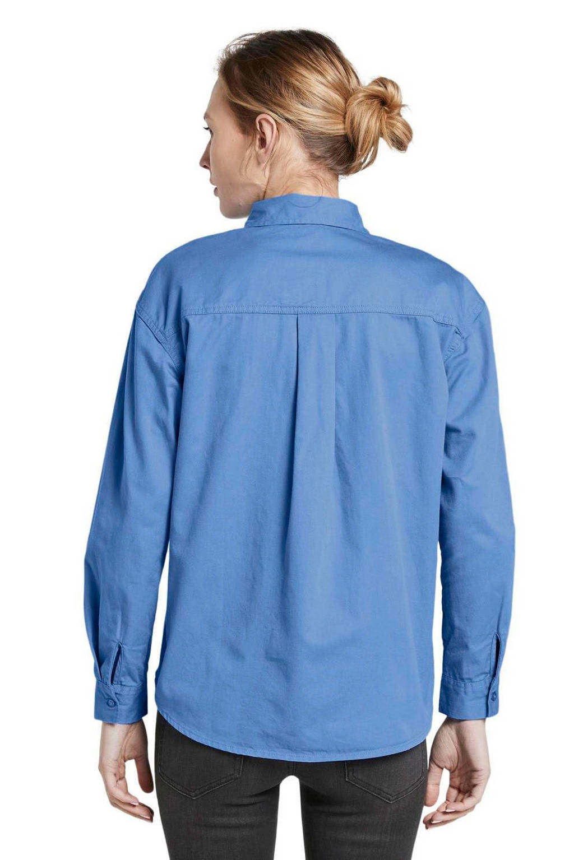 Tom Tailor blouse blauw, Blauw