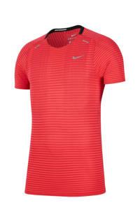 Nike   TechKnit hardloopshirt rood, Rood