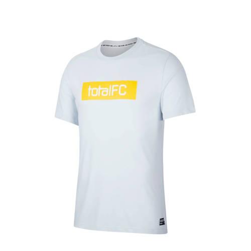 Nike voetbalshirt lichtgrijs