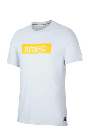 voetbalshirt lichtgrijs