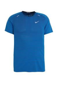 Nike   TechKnit hardloopshirt blauw, Blauw