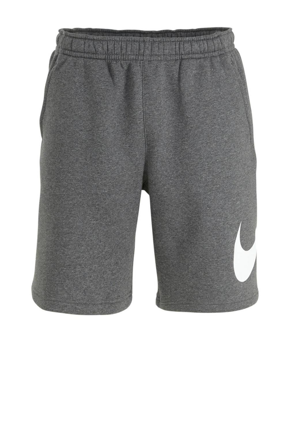 Nike short donkergrijs, Grijs