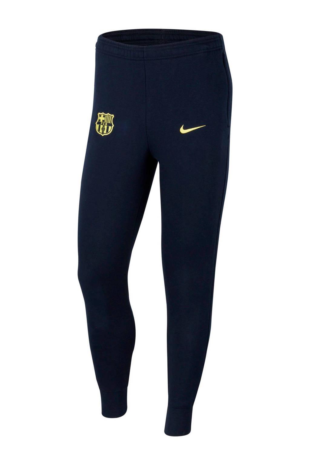 Nike Senior FC Barcelona voetbalbroek donkerblauw, Donkerblauw