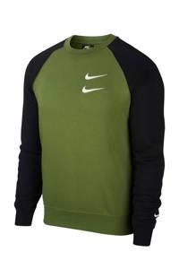 Nike   sweater groen/zwart, Groen/zwart