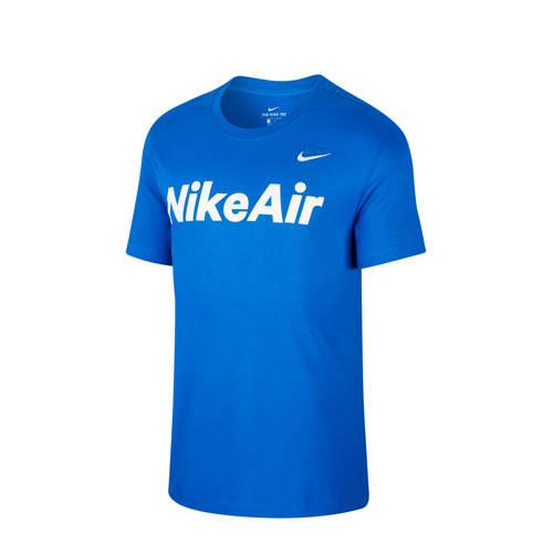 Nike T-shirt blauw