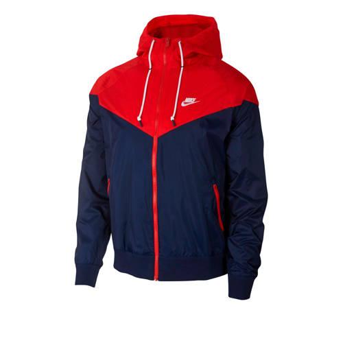 Nike jack rood/blauw