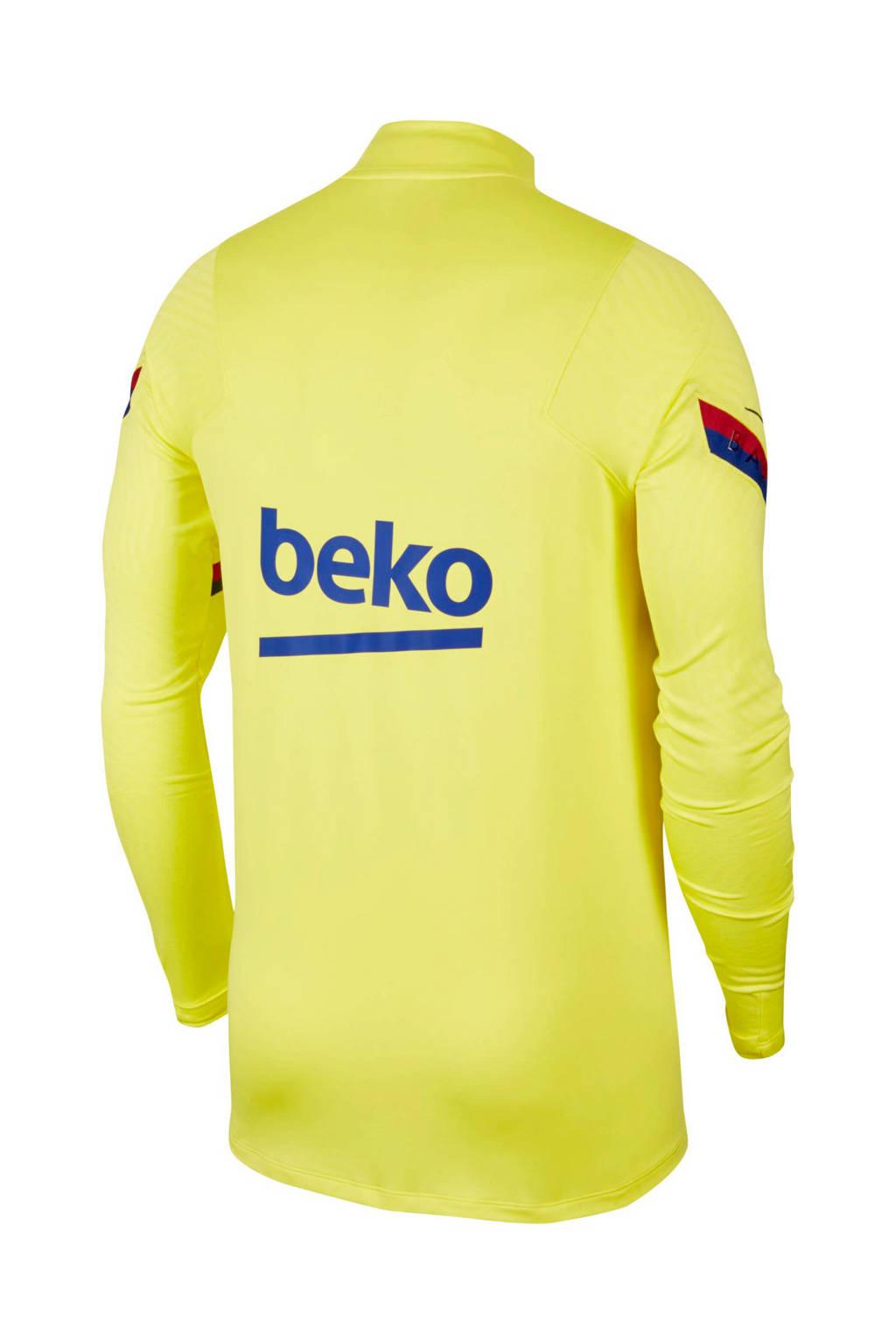 Zitzak Fc Barcelona.Nike Senior Fc Barcelona Voetbalshirt Geel Wehkamp