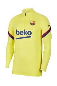 Nike Senior FC Barcelona voetbalshirt geel, Geel