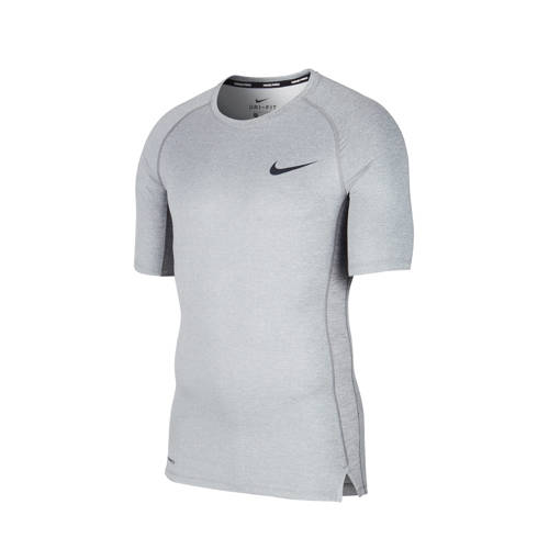 Nike thermo T-shirt grijs