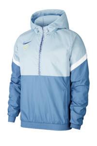 Nike   voetbalanorak blauw, Blauw