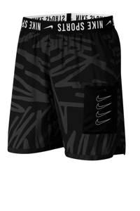 Nike   sportshort zwart/grijs, Zwart/grijs