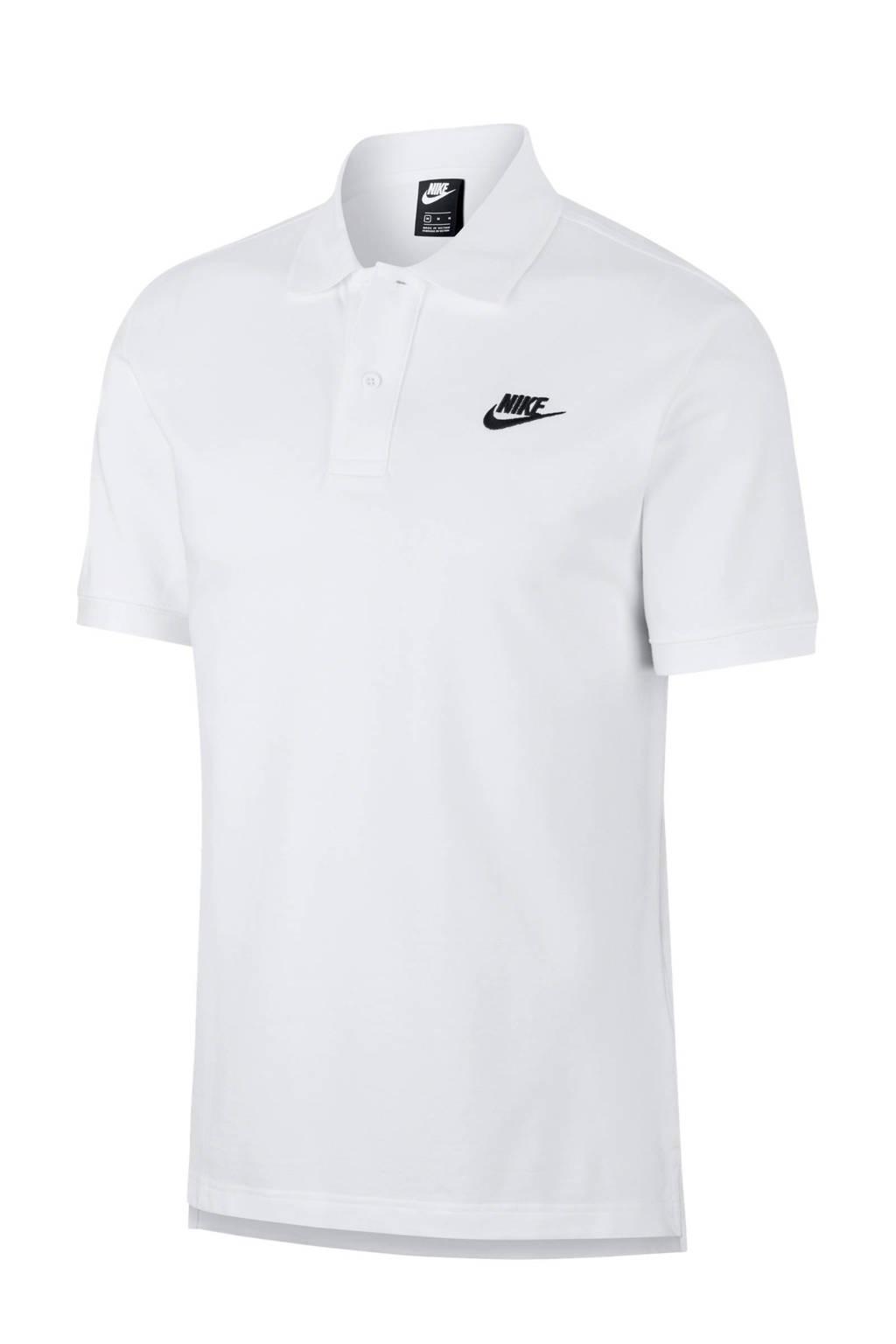 Nike polo wit, Wit