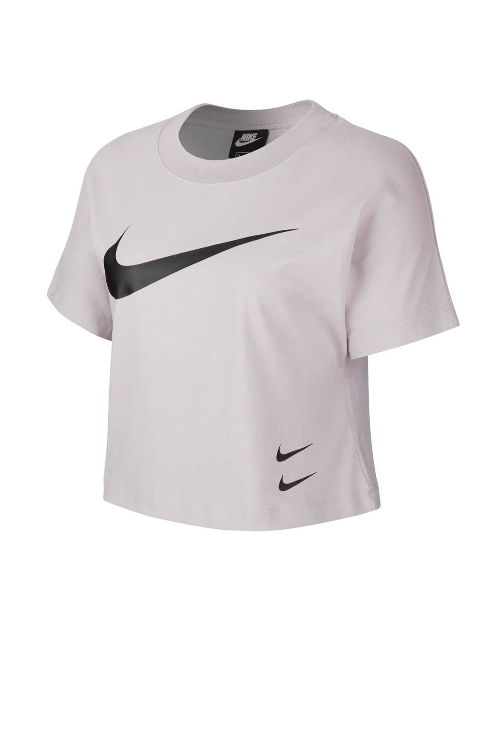Nike cropped T-shirt lichtpaars, Lichtpaars