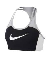 Nike sportbh zwart/wit, Zwart/wit